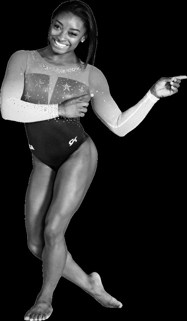 Simone Biles Cutout